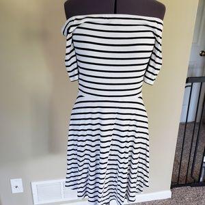 Striped dress from White House Black Market
